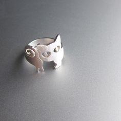 anillo gato