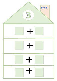 El pupitre: Descomposición de números. Numbers Preschool, Preschool Math, Teaching Math, Math Activities, Kindergarten, Mental Maths Worksheets, Montessori Math, Grande Section, 1st Grade Math