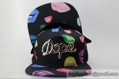 Dope Snapbacks Hats Lips|only US$8.90 - follow me to pick up couopons.
