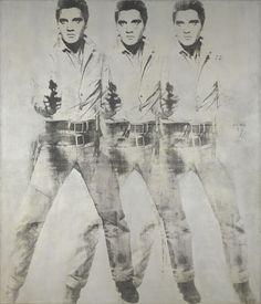 Triple Elvis by Andy Warhol (1963)