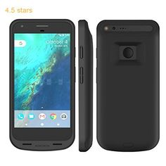 Pixel XL Battery Case ICONIC Google Pixel XL Charger Case 5000 mAh (5.5inch) External Portable Backup Protective Charger Cover Case-Rechargeable Power Bank Juice Pack Case for Google Pixel XL (Black)