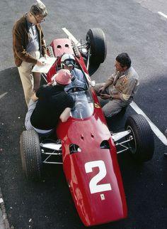 John Surtees, Ferrari 158 World Champion Italy GP, 1964