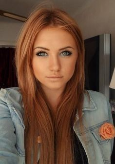 Image result for light reddish brown hair