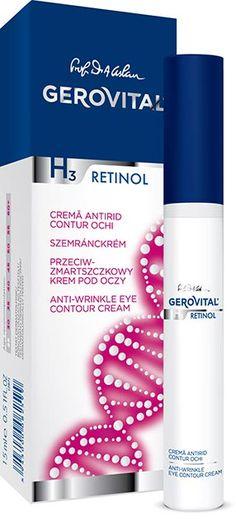 Gerovital H3 Retinol : Αντιρυτιδική Κρέμα Ματιών