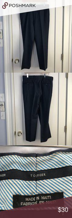 Tommy Hilfiger blue slacks Dark blue Tommy Hilfiger slacks. Approx 33x29 Tommy Hilfiger Pants Dress