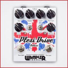 Sampler Pedals.  PREMIER GUITAR REVIEW. Wampler Plexi-Drive Deluxe Reviewby Matthew Holliman August 27, 2015 http://www.premierguitar.com/articles/22960-wampler-plexi-drive-deluxe-review