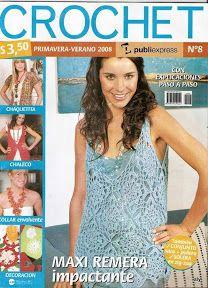 Crochet - Primavera - Verano 2008 - Alejandra Tejedora - Picasa Web Albums