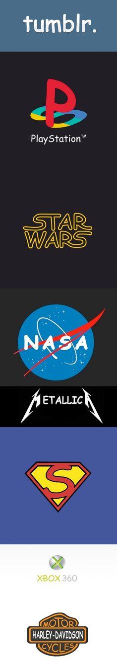 Logos famosos con el tipo de letra Comic Sans.