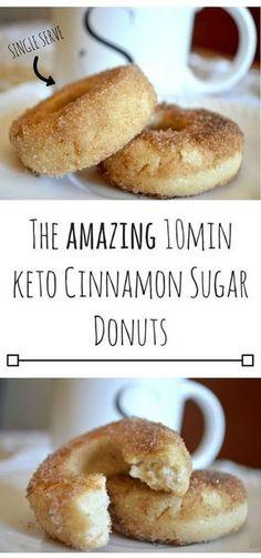The amazing Keto Cinnamon Sugar Donuts.png The amazing Keto Cinnamon Sugar Donuts. Ketogenic Recipes, Low Carb Recipes, Diet Recipes, Keto Diet Foods, Keto Desert Recipes, Recipies, Keto Nutrition, Shake Recipes, Coconut Oil Recipes Keto
