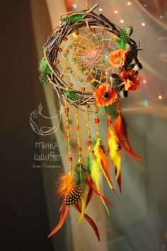 New Diy Dream Catcher Wreath Beautiful 32 Ideas Dream Catcher Art, Dream Catcher Mobile, Los Dreamcatchers, Boho Dreamcatcher, Mundo Hippie, Diy And Crafts, Kids Crafts, Creation Deco, Idee Diy