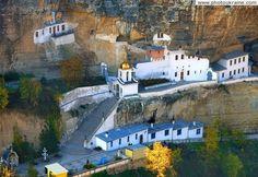 Monastery of Holy Dormition, Chufut-Kale, Crimea, Ukraine