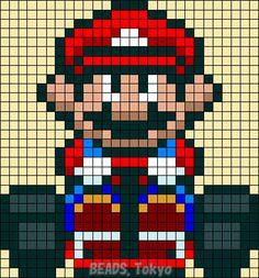 Mario Kart Perler Bead Pattern - BEADS.Tokyo