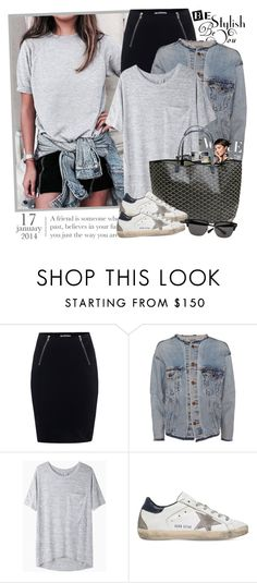 """""""2278. Blogger Style: Sincerely, Jules"""" by chocolatepumma ❤ liked on Polyvore featuring T By Alexander Wang, RE/DONE, rag & bone/JEAN, Goyard, Golden Goose, Ted Baker, BloggerStyle, citychic, sincerelyjules and citylook"""
