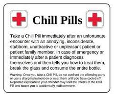 Image result for chill pill printable label