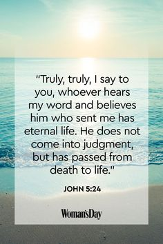 Death comes for us all in one form or another. When it does, consider turning to these comforting Bible verses about death to get you through. Faith Bible, Bible Scriptures, Bible Verses About Death, Comforting Bible Verses, Isaiah 25, Revelation 21, Jesus Lives, Human Soul, The Kingdom Of God