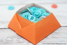 DIY SIMPLE ORIGAMI BOX DIY Origami DIY Craft