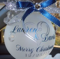 "Wanna make this But with "" Our first Christmas as Mr. and Mrs. 2013"" Cher's Signs by Design"
