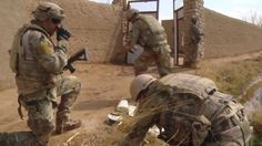 Members of the 466th Air Expeditionary Squadron, Operating Location Delta, Explosive Ordnance Disposal Team 6 ambedded with the British Army Brigade Reconaissance Force (BRF), embark on a mission to recover and destroy lethal aid weapon caches hidden by insurgents in the Helmand Province of Afghanistan. The team encounters opposition several times during the mission.