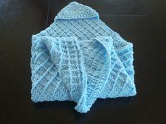 blue baby hooded swadle  jinjifer@hotmail.com