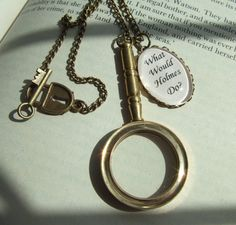 What Would Holmes Do? necklace for the Sherlock fan