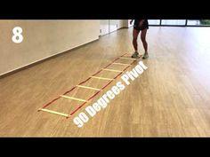 Ladder Program For Netballers (Beginners) - YouTube