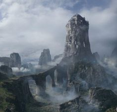 The Eyrie (A Game of Thrones). Always pictured the castle higher than this in my head