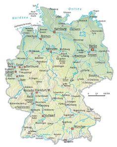 Profil Jerman : Geografi dan Iklim