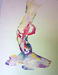 Pointe Shoes, Watercolor Ballet Painting, Dancer Painting, Dance, Dance Art, Ballerina on Etsy, $20.11 CAD