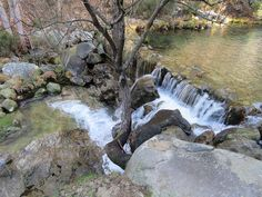 Pozas de Mougas Waterfall, Outdoor, Swimming Holes, Community, Outdoors, Rain, The Great Outdoors, Waterfalls
