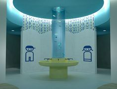 Contemporary Elementary School Bathroom Design Recent Photos The Commons Getty Collection Galleries World Map App Kindergarten Interior, Kindergarten Design, Wc Design, Toilet Design, Design Ideas, Interior Design, Childrens Bathroom, Bathroom Kids, Washroom Design