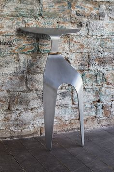 Petr Badura Designs A Chair Made From A Single Piece Of Bent Aluminum