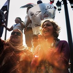 Women of the Egyptian Revolution - these women are now fighting to ensure that women are given equal rights in a democratic Egypt.