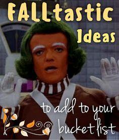 SaneHarbor: FALLtastic Ideas To Add To Your Bucket List