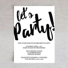 Bachelorette Party Invite, Wedding Printable, Wedding Bachelorette Party, PDF Instant Download, Invite Template, PDF