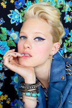 Vibrant Punk Fashion - The Nasty Gal May 2012 Lookbook Stars Model Hannah Holman (GALLERY)