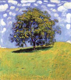 Le Nut Tree de Ferdinand Hodler (1853-1918, Switzerland)
