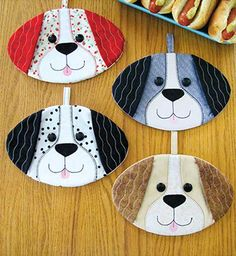 These cute hot pads