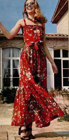 make a maxi dress 1970s