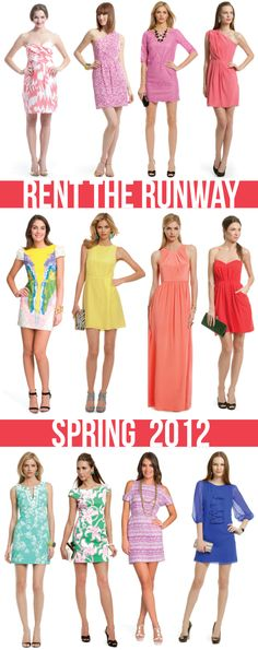 spring looks for less via @Rent The Runway.