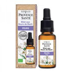 Elixir aux Fleurs de Bach Peurs Provence Santé