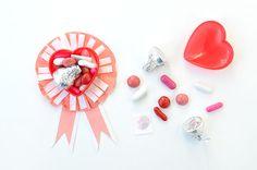 Valentine Ribbon Treats   Oh Happy Day!