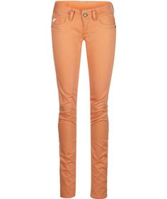 G-Star: Damen Hose 'Lynn Skinny', orange ...
