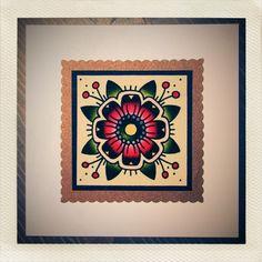 Mandala / Flower print