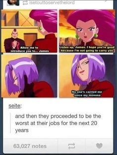 Team Rocket - Funny Pokemon - Funny Pokemon meme - - they really do suck at their job<< But they never gave up gotta give them credit for that. The post Team Rocket appeared first on Gag Dad. Pokemon Memes, Pokemon Funny, Pokemon Go, Pokemon Stuff, Pokemon Comics, Random Pokemon, Pokemon Team Rocket, Pokemon Charmander, Jokes