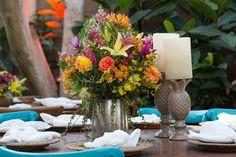 Casamento na praia decoração da mesa - Foto: Luiza Reis Fotografia