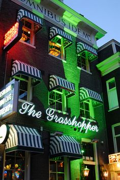 Famous Bar, The Grasshopper, Amsterdam, Netherlands