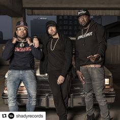 "815.7k Likes, 18.1k Comments - Marshall Mathers (@eminem) on Instagram: ""#Repost @shadyrecords ・・・ This is the beauty that happens when Detroit & Buffalo link up. Check out…"""