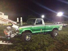 Damage plan Truck And Tractor Pull, Tractor Pulling, Ford 4x4, Ford Trucks, Truck Pulls, Logging Equipment, 4x4 Off Road, Car Stuff, Alfa Romeo