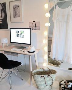 Ikea 'Lisabo' desk @mariann_nerland
