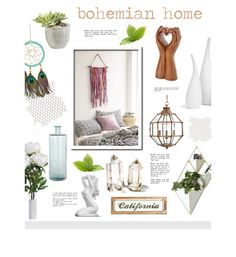 """""""Boho Home"""" by hellodollface ❤ liked on Polyvore"""